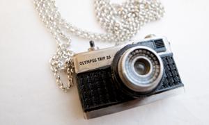 Camera jewellery by Luke Satoru