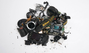 The story of the smashed Nikon