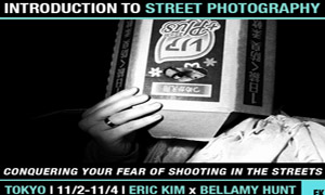 """""""Conquering Your Fear of Shooting on the Streets"""" Introduction to Street Photography Workshop in Tokyo with Eric Kim (11/2-11/4)"""