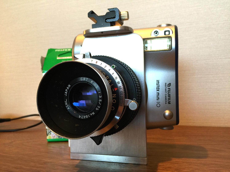 Camera Geekery: Hacked Instax Mini