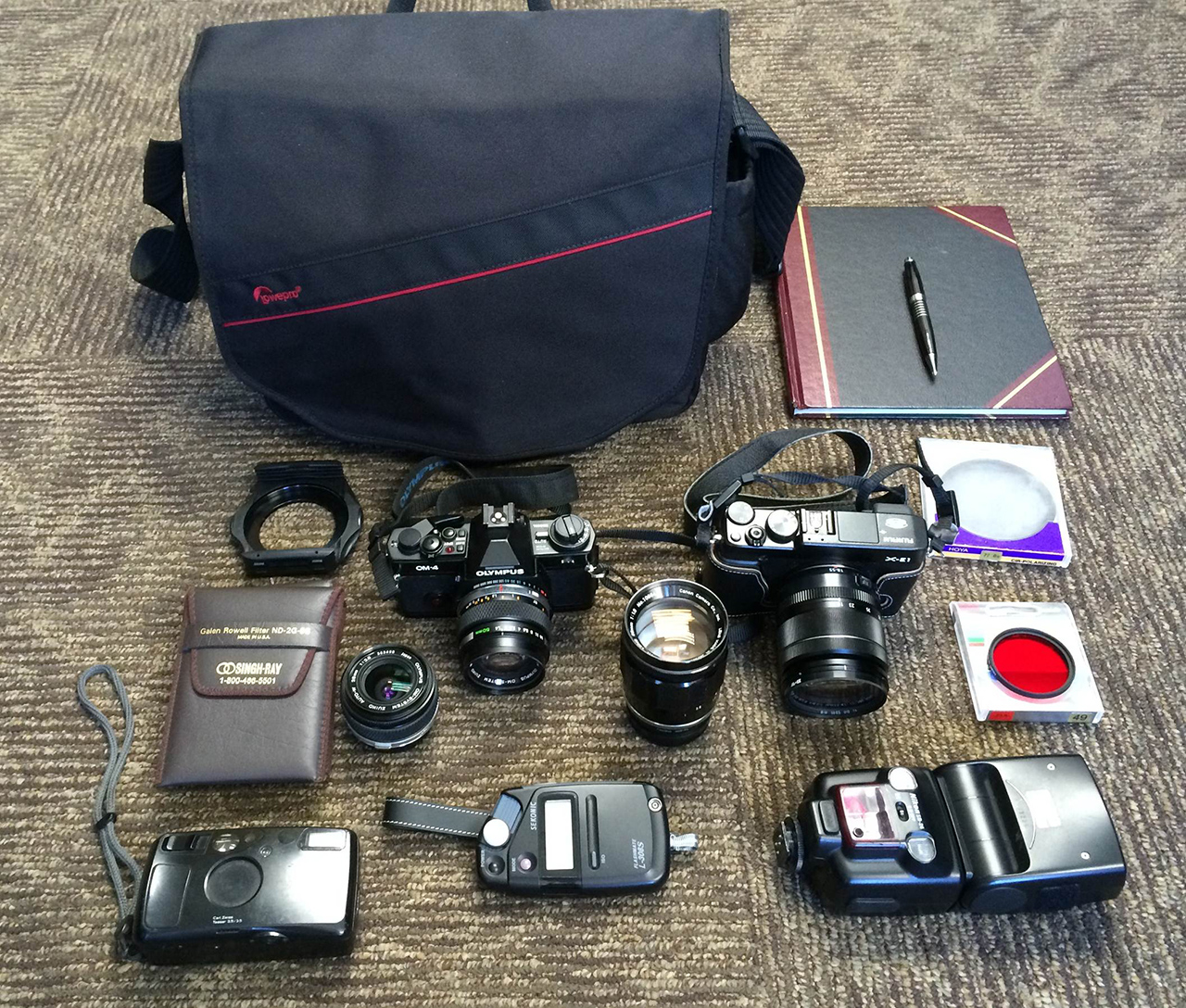 In your bag No: 1218 – Andrew Gundershaug