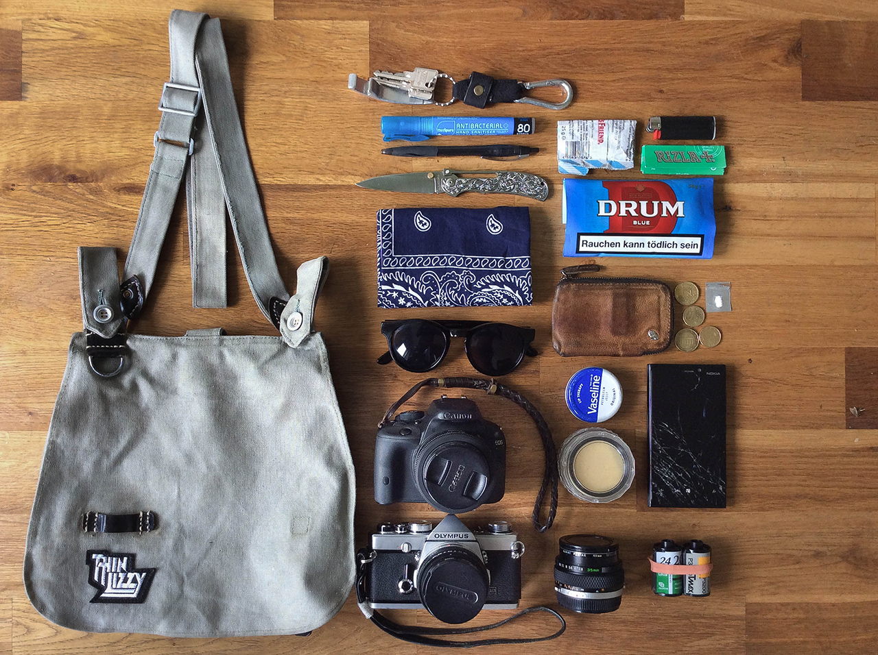 In your bag No: 1275 – Christopher Kelaart