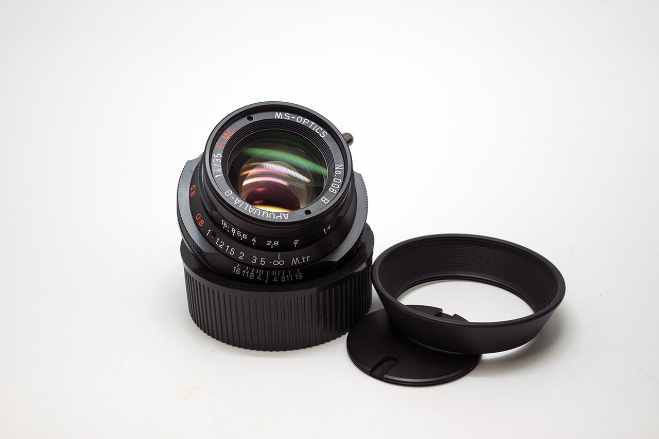 Camera Geekery: The New MS-Optics Apoqualia 35mm 1.4 F MC