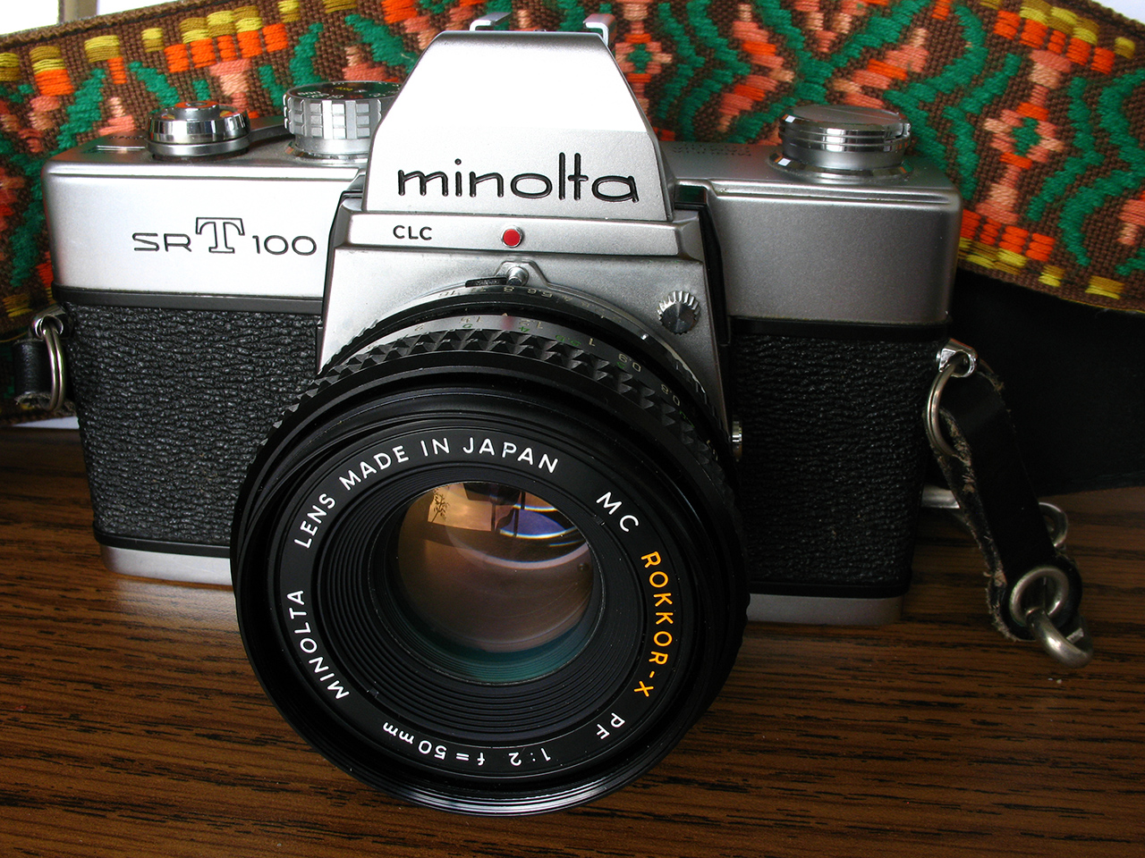 Camera Geekery: Minolta SRT 100X review