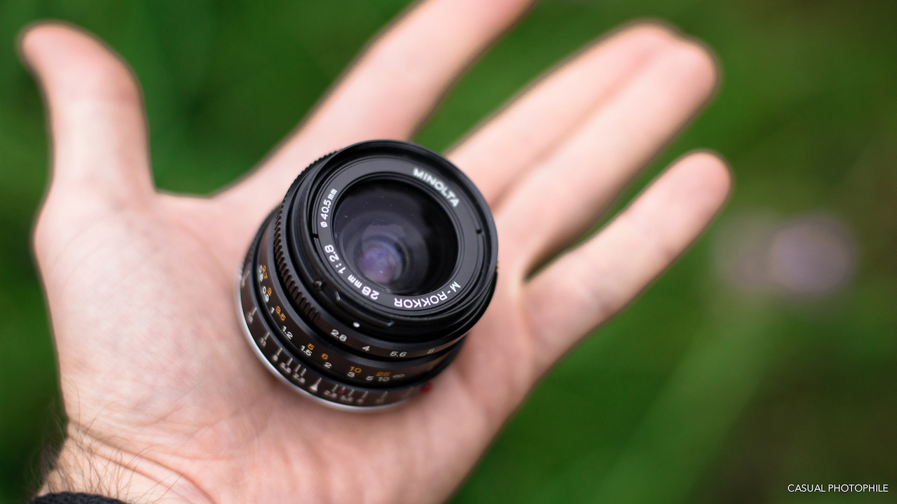 Camera Geekery: Minolta M Rokkor 28mm f/2.8 – Lens Review
