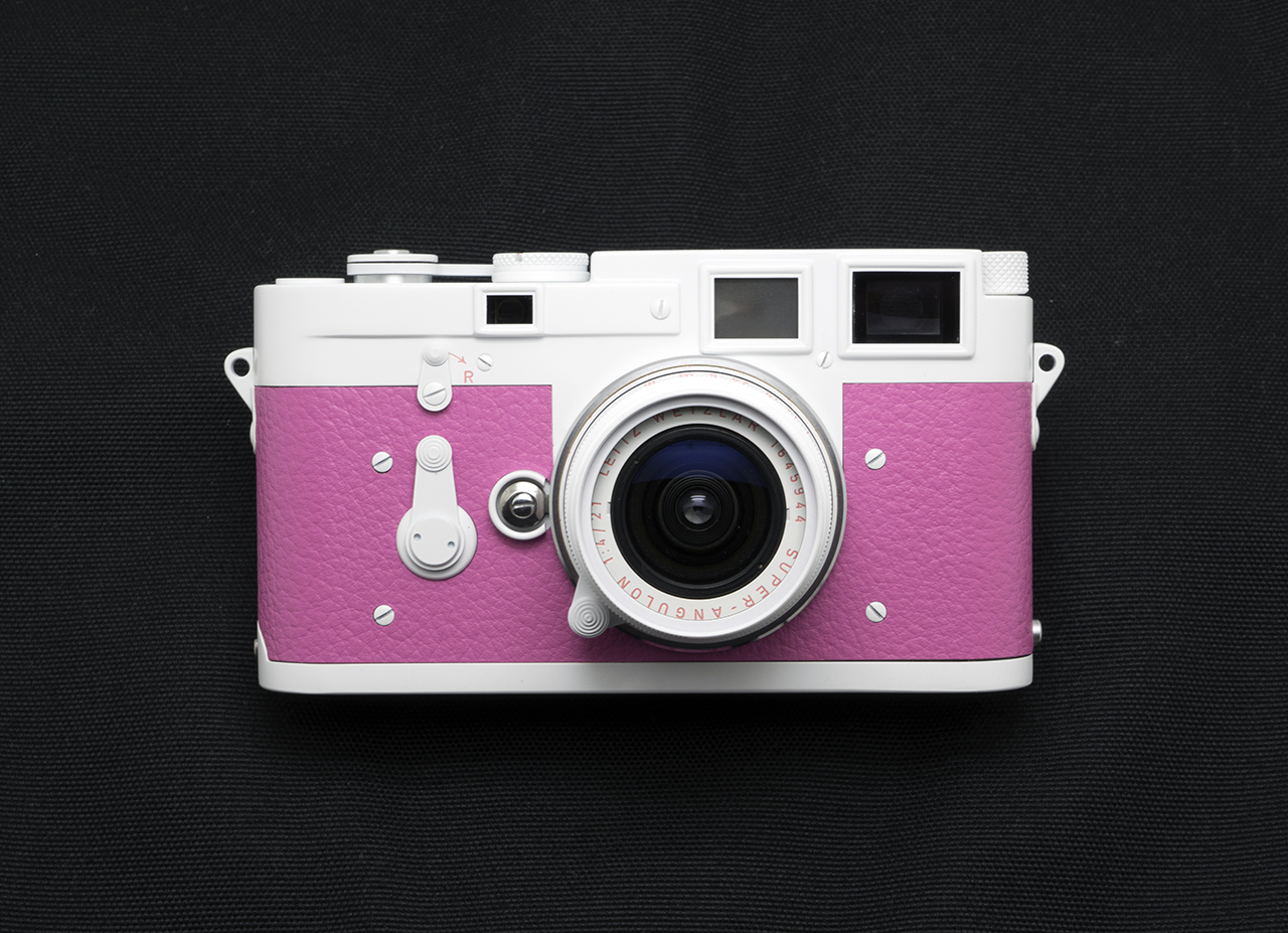 Camera Geekery: Candy Pink Leica M3