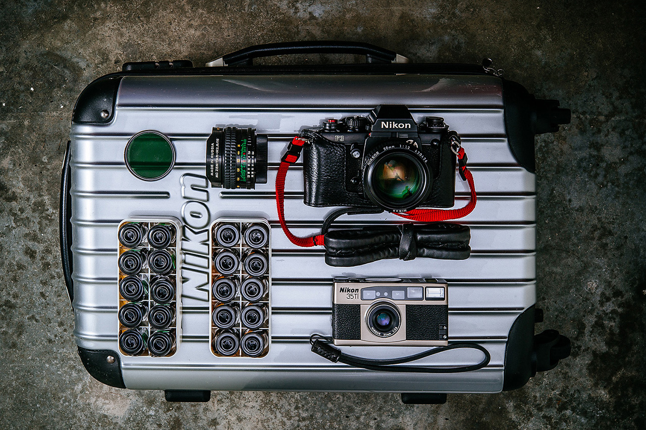 Travelling with film by Richard Wong