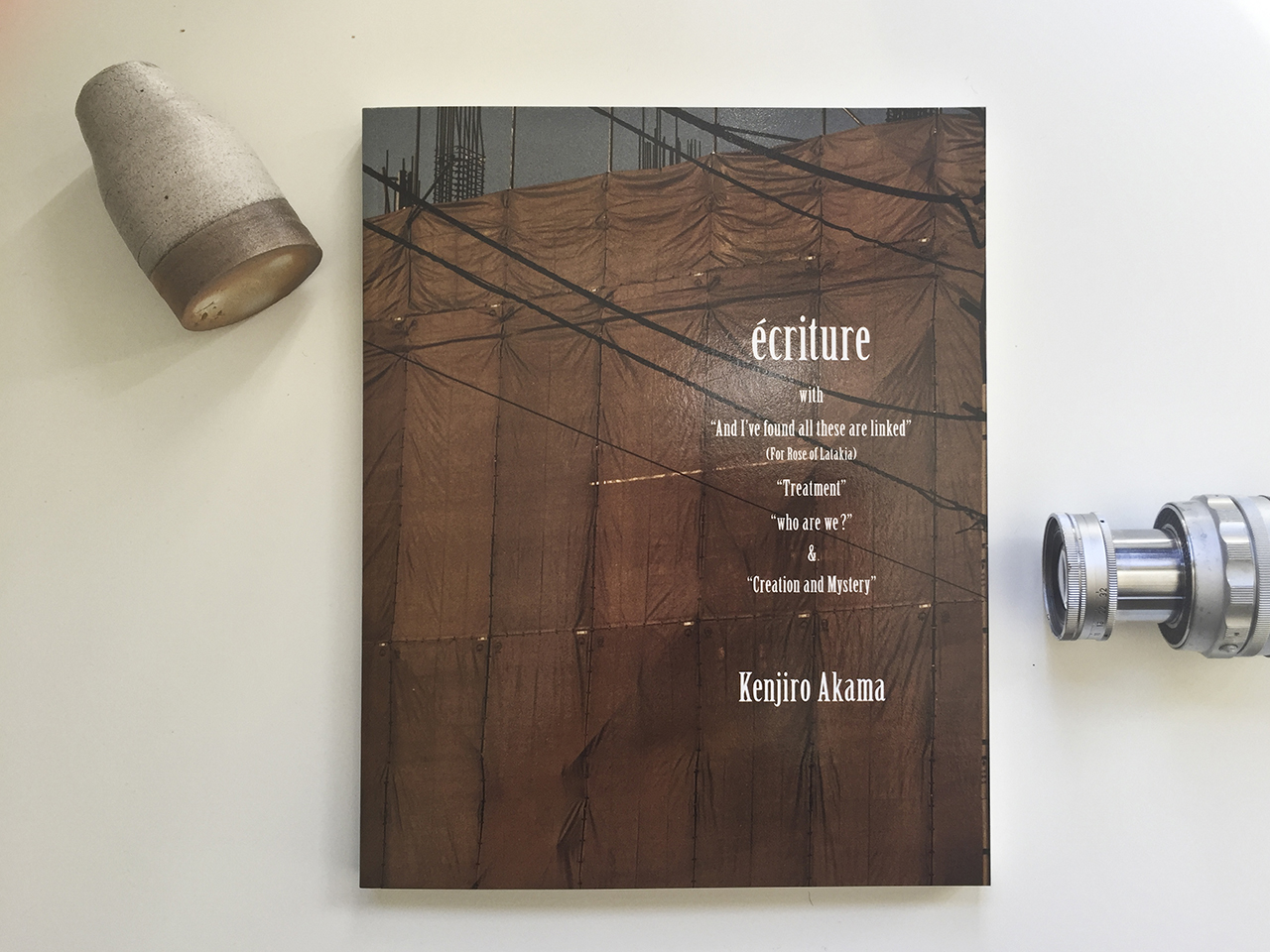 Jesse's Book Review – écriture by Kenjiro Akama