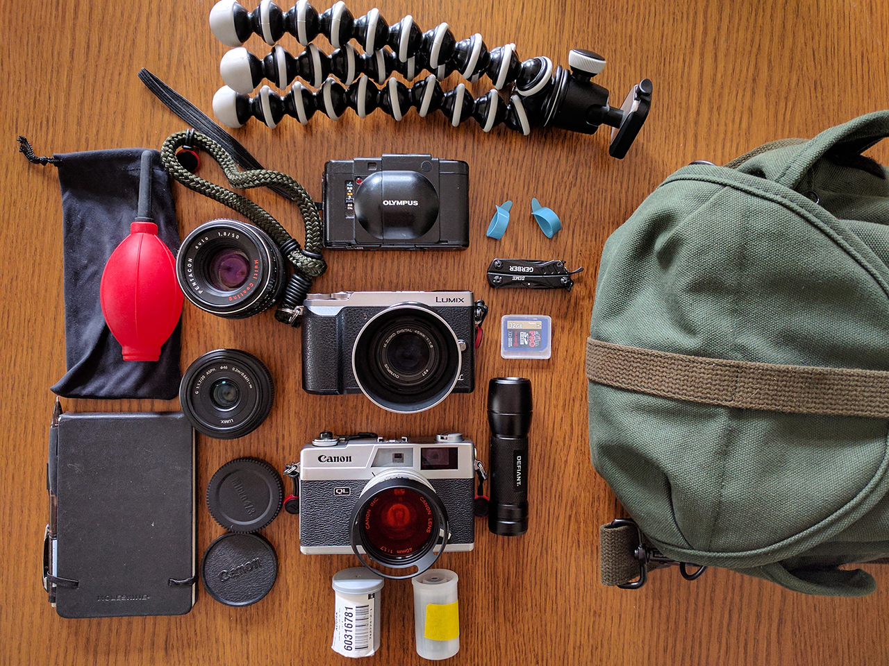 In your bag No: 1493 – Chuck Johnson