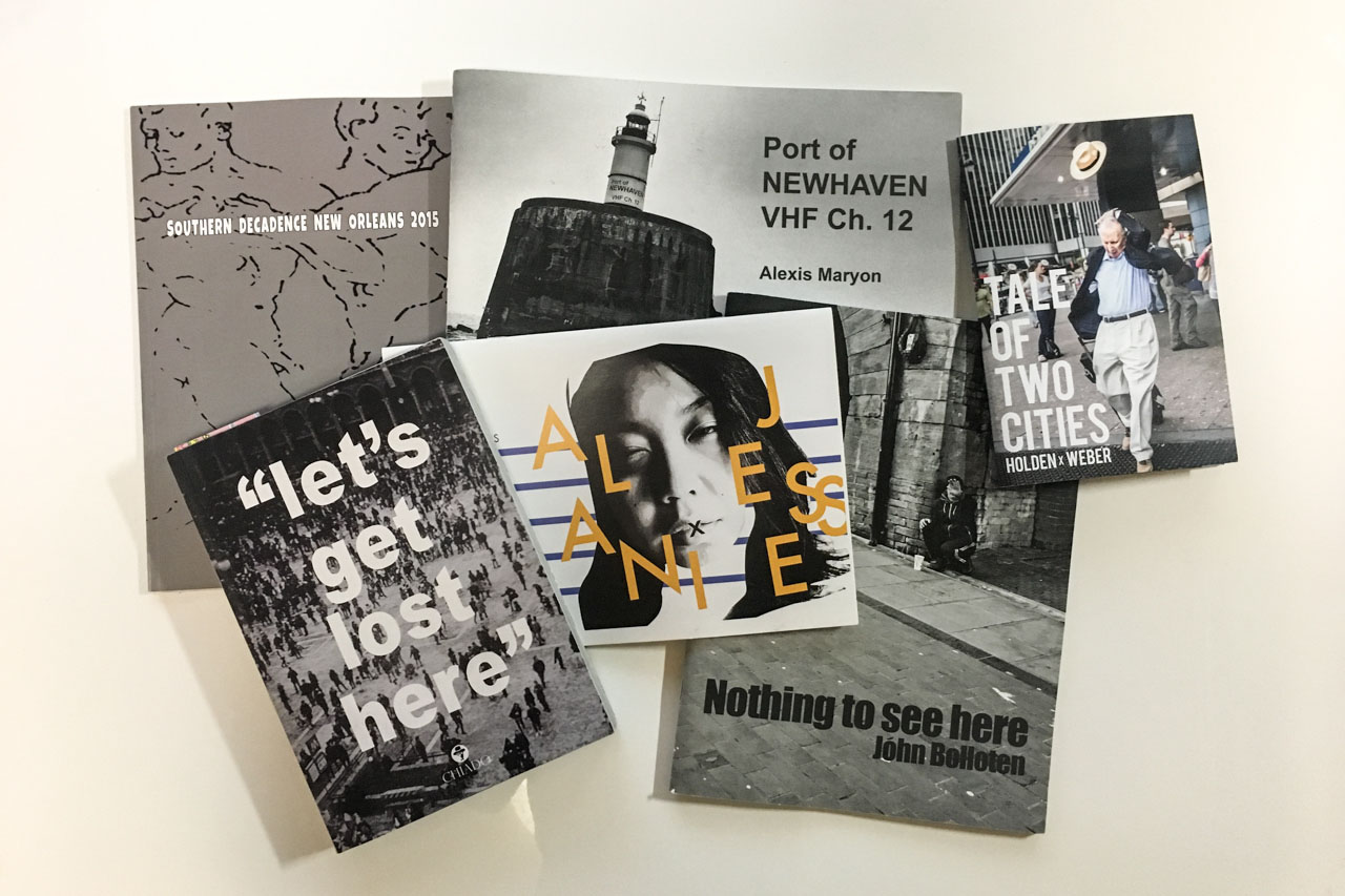 Photography Zines and Books No: 38