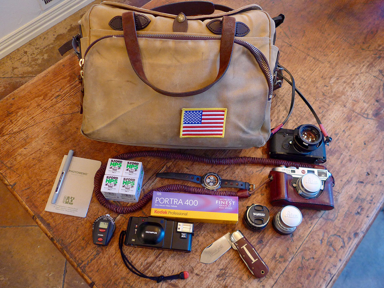 In your bag No: 1535 –  Thomas Archer