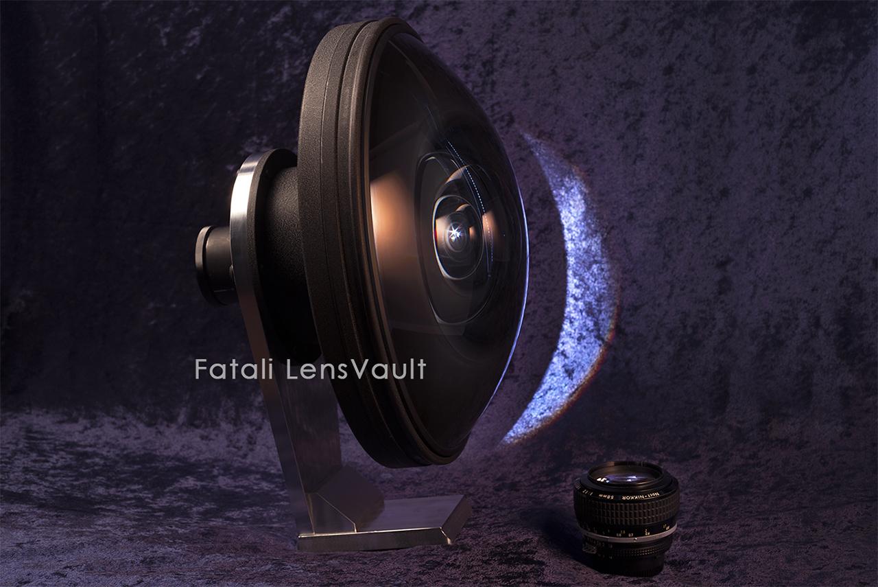 Camera Geekery: The ultra rare 17.3mm Fisheye Nikkor