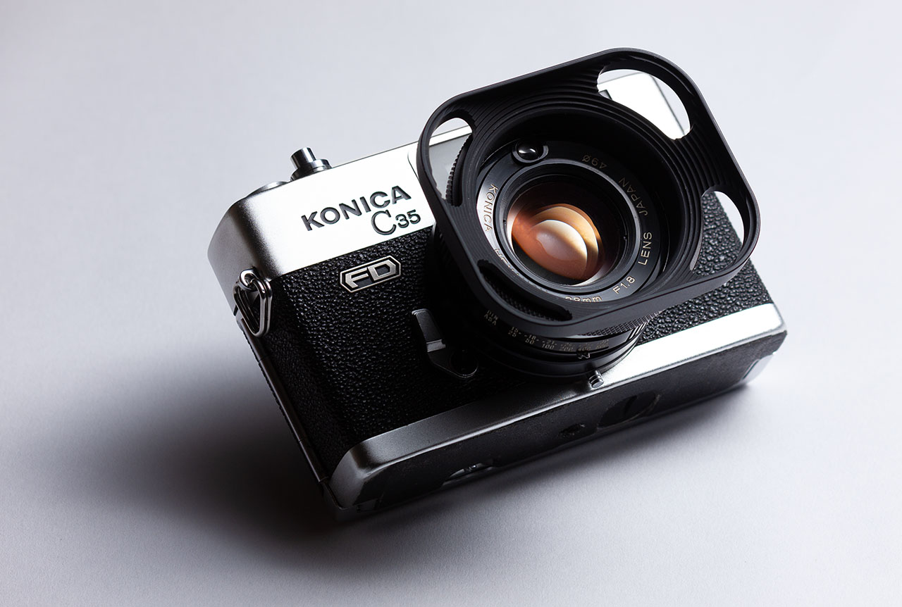 Camera Geekery: Konica C35 FD Review